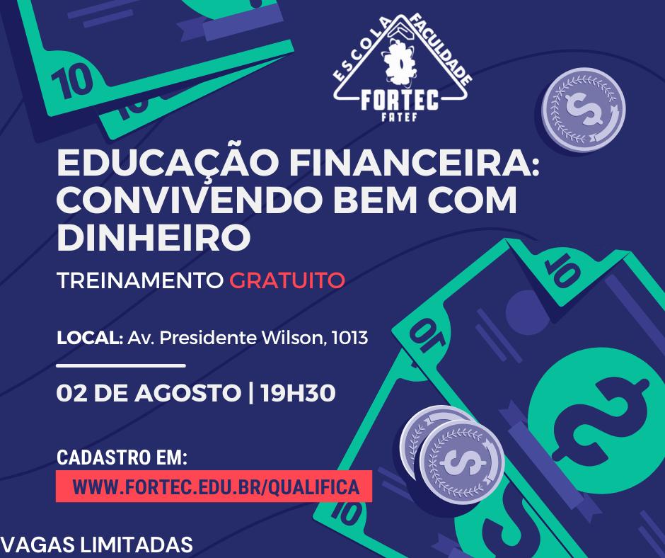 OK-EDUCAÇÃO FINANCEIRA CONVIVENDO BEM COM DINHEIRO
