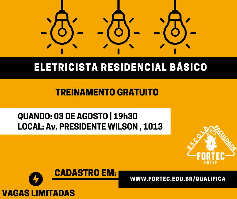 OK-ELETRICISTA RESIDENCIAL BÁSICO