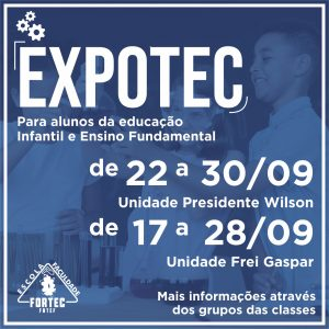 Está acontecendo a Expotec 2021!
